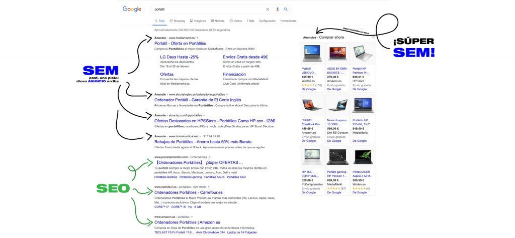 google-que-es-seo-sem